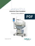 Natus NatalCare ST-LX Incubator - Service Manual