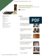 (1) Resep Bolu Ketan Hitam Kukus Oleh Dapurjengeva - Cookpad