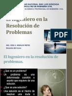 5 .- El Ingeniero en La Resolucion de Problemas
