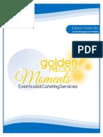 Edison Gabrido - Portfolio - Events Management NC 3 III