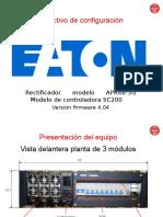 Instructivo Configuraci+¦n EATON (controladora SC200)