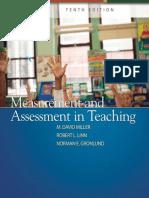 2009 Measurement and Assessment in Teaching [M. David Miller, Robert L. Linn, Norman E. Gronlund