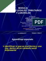 Curso de Aspectos Legales, Tributarios y Laborales Clase 2 Pev 2017
