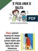 Penyuluhan Diare Pada Anak