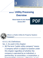 170123 - Waddell and Hayden Presentation - 2017 Utility Processing Overview