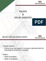 Delay & Delay Analysis