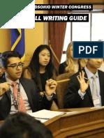 winter-congress-bill-writing-guide