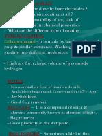 Electrodes & Flux