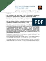 Analisis Psicologico de La Pelicula La Naranja Mecanica