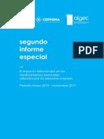 El Impacto Inflacionario en Los Medicamentos Esenciales Utilizados Por Las Personas Mayores. Noviembre de 2017