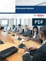 Starin - Bosch - Conferencing - CCS900 Data Brochure