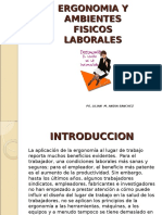 Ergonomia y Ambientes Fisicos Laborales