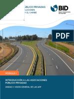Introducción a Las Asociaciones Público Privadas. Visión General de Las APP