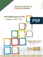 Informe Legislativo 2012 2013