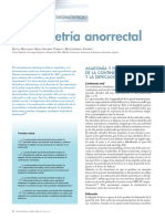 manometria anorectal