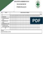 Copy of Check List Petugas Kebersihan Ruangan Nifas