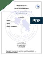 Boletín Epidemiológico Sem 33 del 2010