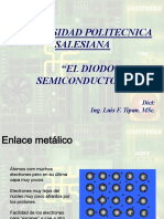 El Diodo Semiconductor Parte i