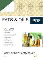 Class No. 6 Fats and Oils NUTR214 2017sv