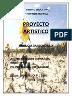 PROYECTO ARTISTICO (Autoguardado)