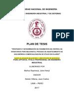 Plan de Tesis Jairo