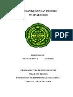 Laporan Kunjungan Industri PT. SOSRO