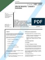 NBR 10068 - Folha de desenho - Leiaute e dimensoes.pdf