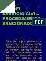 Servicio Civil y Procedimiento Sancionador_admnistrativo Final