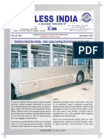 Stainless Steel Bus Body - Safe, Long Lasting & Environment Friendly