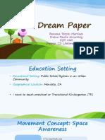 dream paper