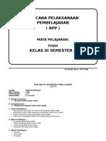 RPP FIQIH KELAS 3