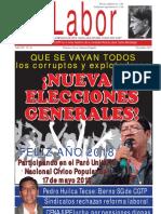 LABOR VOCERO OFICIAL DE LA CGTP AÑO XV N° 10 - DICIEMBRE 2017