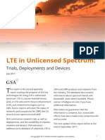 170705 GSA LTE in Unlicensed Spectrum