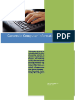 Careers in Computer Information Systems CIS10-11