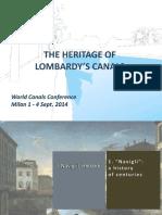 Navigli Lombardi Heritage