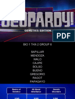Jeopardy Genetics Edition