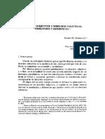 Derechos Subjetivos y Derechos Colectivos Similitudes y Diferencias