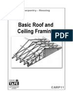 126358278 Carpentry Notes on Basic Roof Ceiling Framing