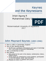 Keynessian Theory of History of the Birt Macroeconomy