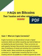 FAQs on Bitcoins