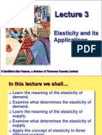 Lect 3 Elasticity and Its Applications