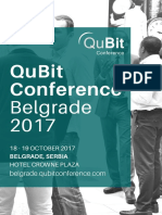 QuBit Cyber Security Conference Belgrade 2017
