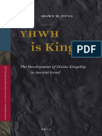 (Supplements to Vetus Testamentum 159) Shawn W. Flynn-YHWH Is King_ The Development of Divine Kingship in Ancient Israel-Brill Academic Publishers (2014).pdf