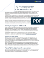 6878 Using Azure AD Privileged Identity Management for Elevated Access TCS