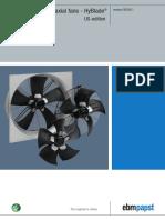 Axial-fan EC-HyBlade UL En