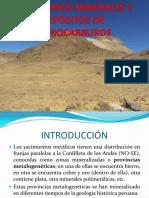 Yacimientos Minerales e Hidrocarburos