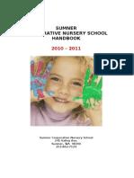 Sumner Handbook 2010-11