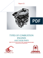 Types of Internal Combustion Engines