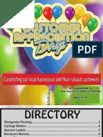 2010 Customer Appreciation