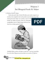Pelajaran 3 Mari Mengenal Surah AL-'Adiyat